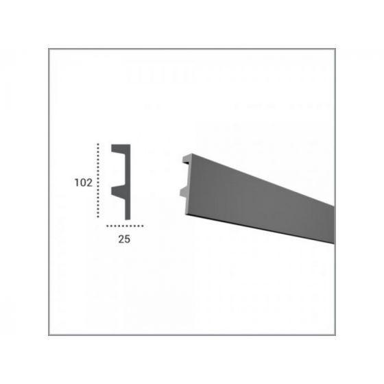 Profil pentru banda LED din poliuretan KF504