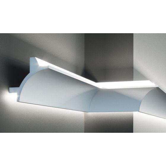 Profil pentru banda LED din poliuretan flexibil KF706F